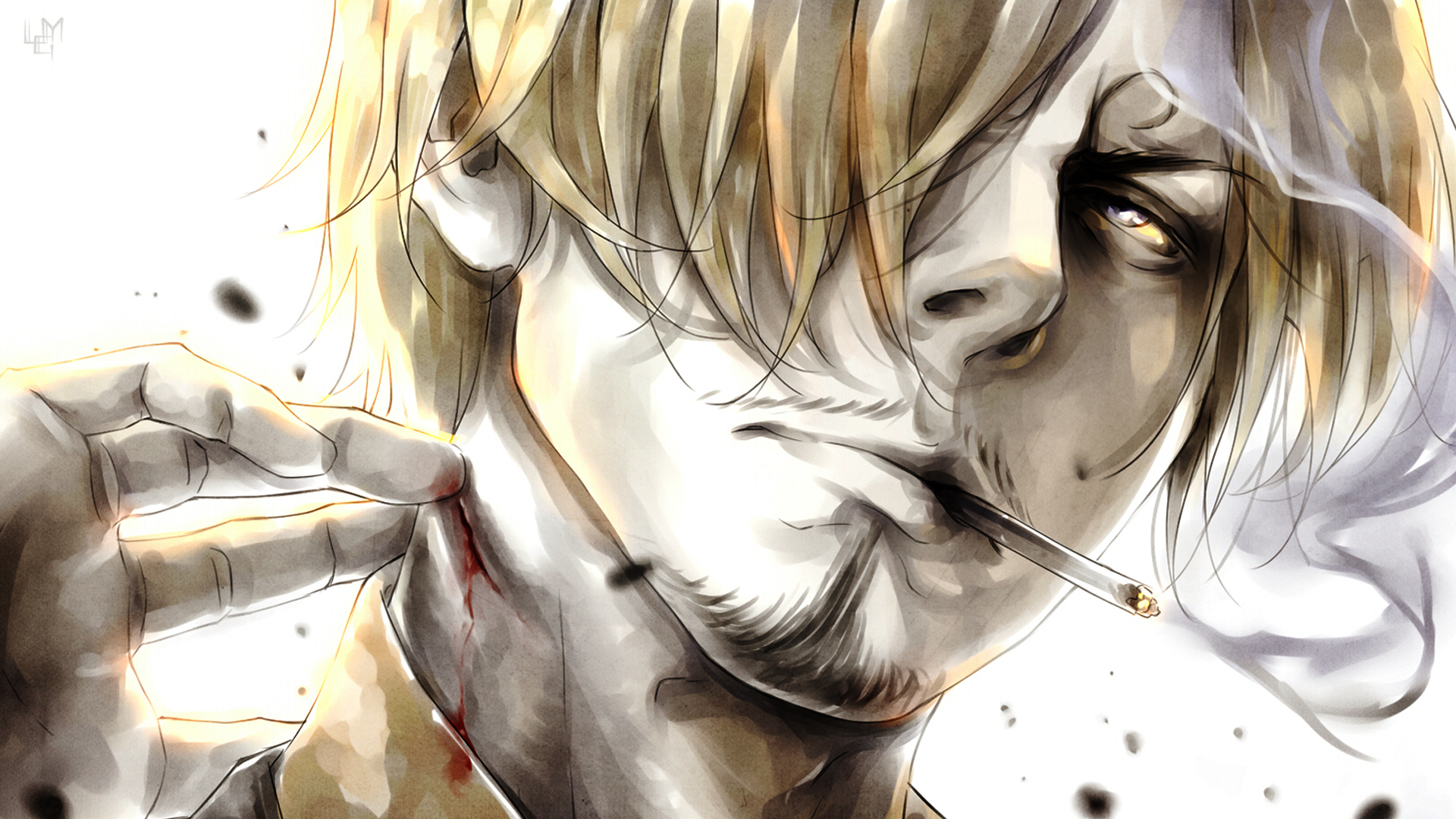 78 Sanji Wallpapers On Wallpapersafari