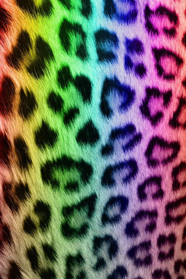leopard print more rainbow aewsomeness leopard prints rainbow leopard 640x960