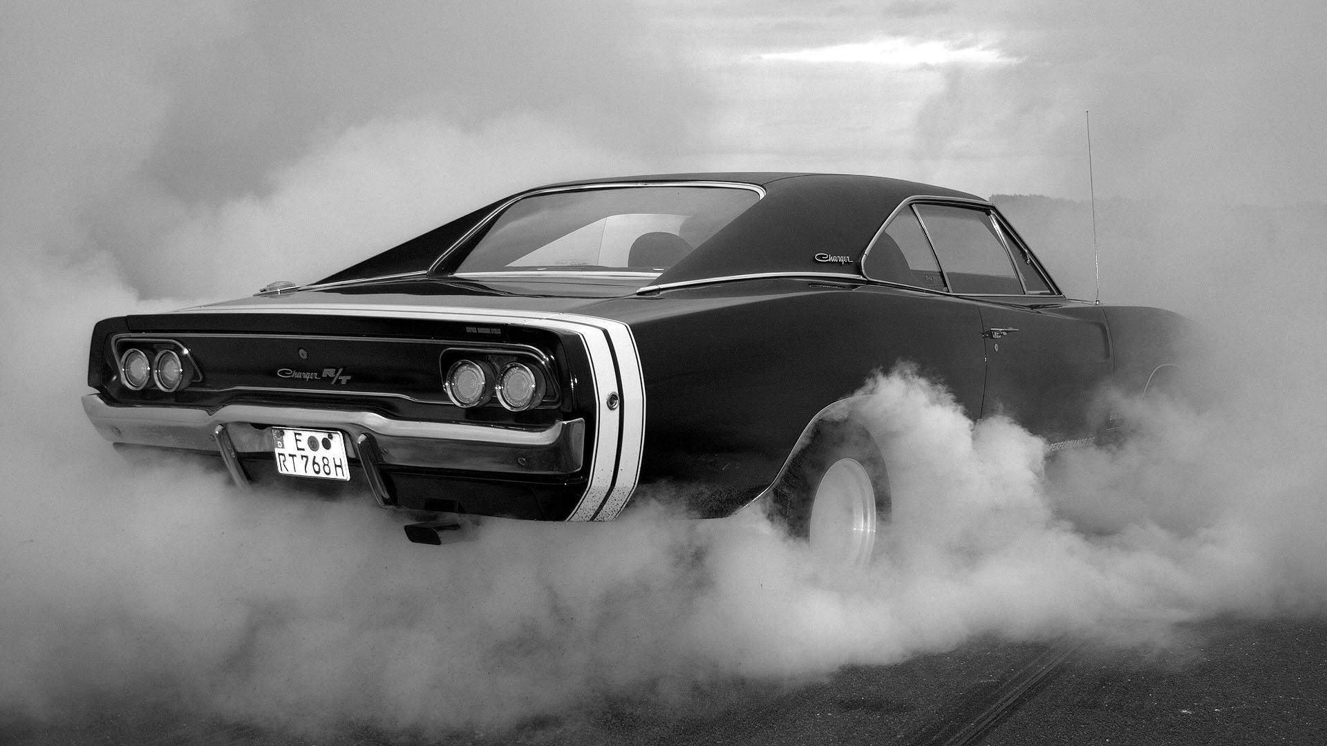 Muscle car burnout wallpaper 1920x1080 HQ WALLPAPER   35283 1920x1080