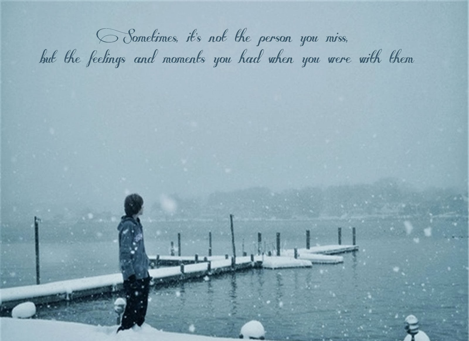 Alone Boy HD Wallpaper and Images sad Boy in snow 1600x1164