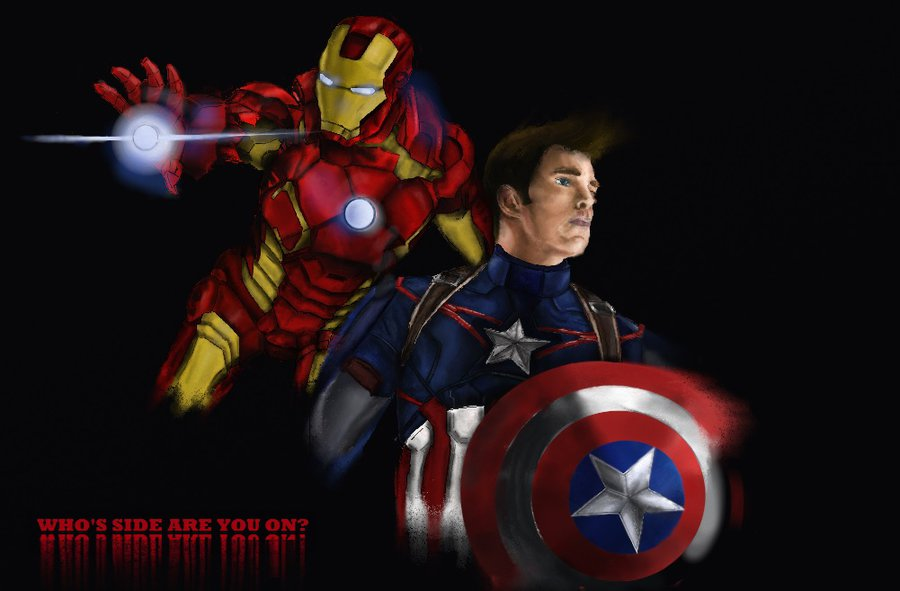 Avengers Civil War by Devenhams 900x591