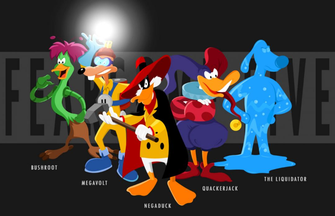 Quackerjack Darkwing Duck Art Cartoon Hd Wallpaper Wallpapers Themes 1080x698