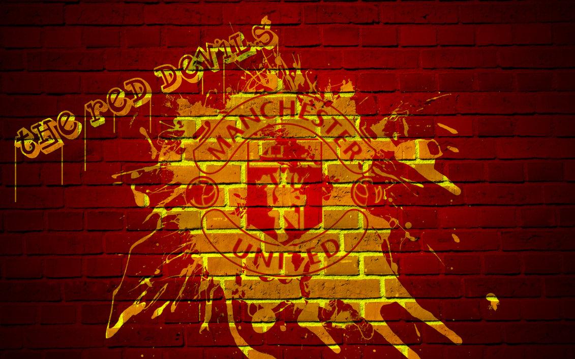 Man utd wallpaper wallpapersafari 1131x707 best wallpaper manchester united with mural design voltagebd Image collections