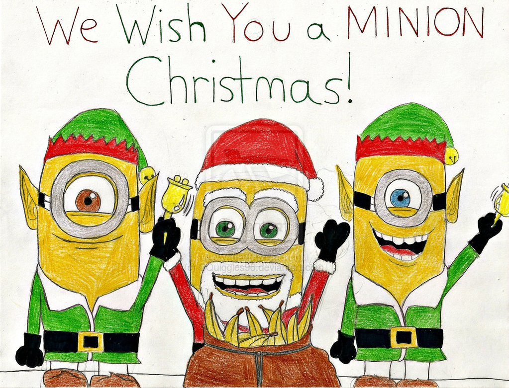 Wish you a Minion Christmas Minions Pinterest 1023x781