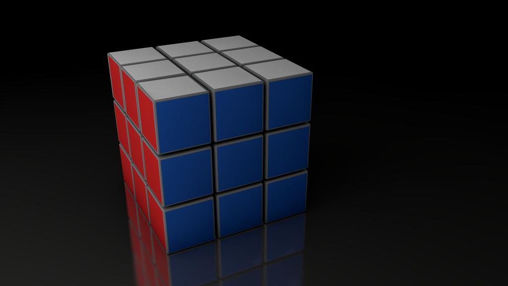 Rubiks Cube Wallpaper Rubik 39 s Cube Wallpaper by 1024x576