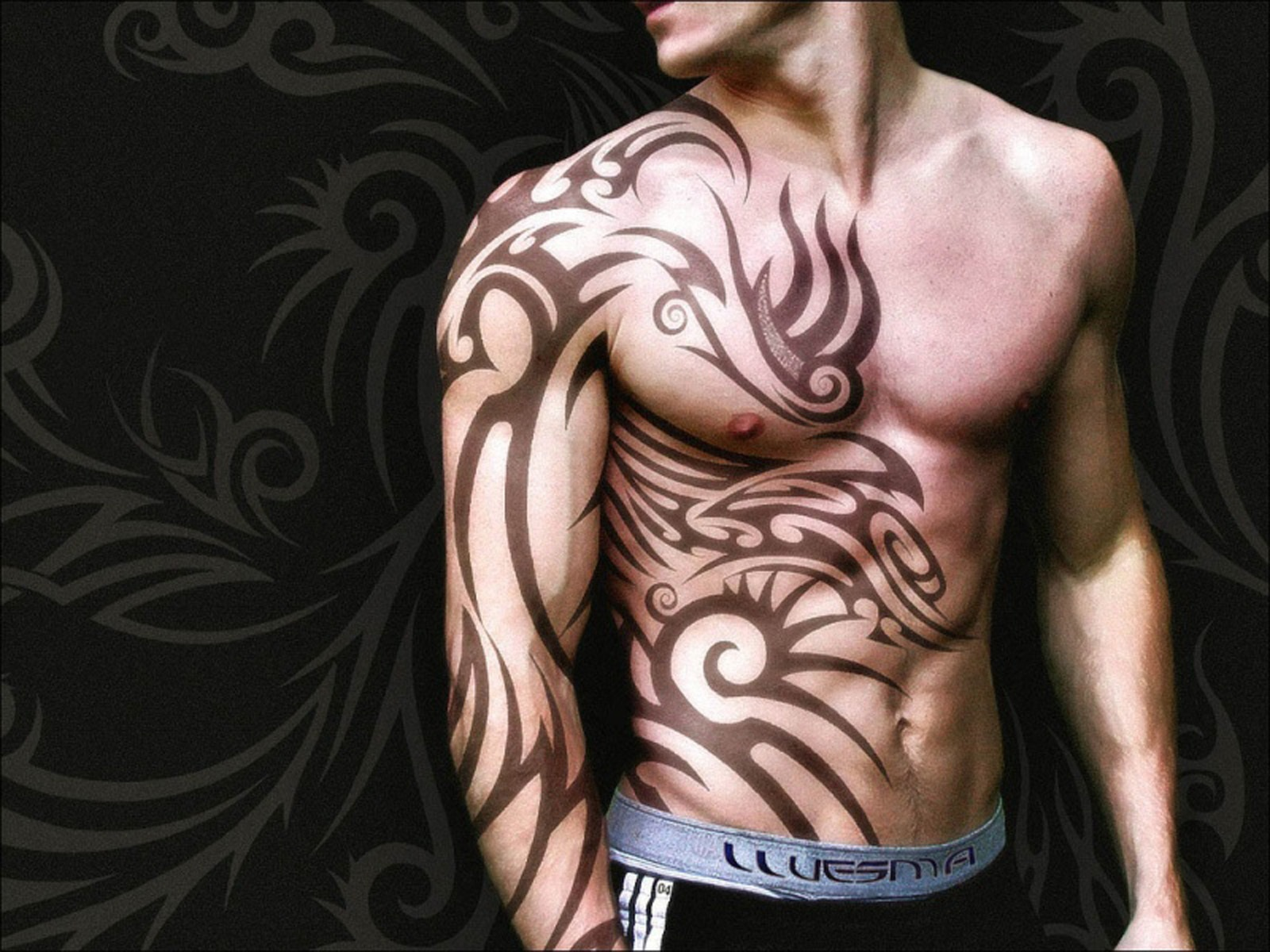 49 ] Tribal Tattoo Wallpaper On WallpaperSafari