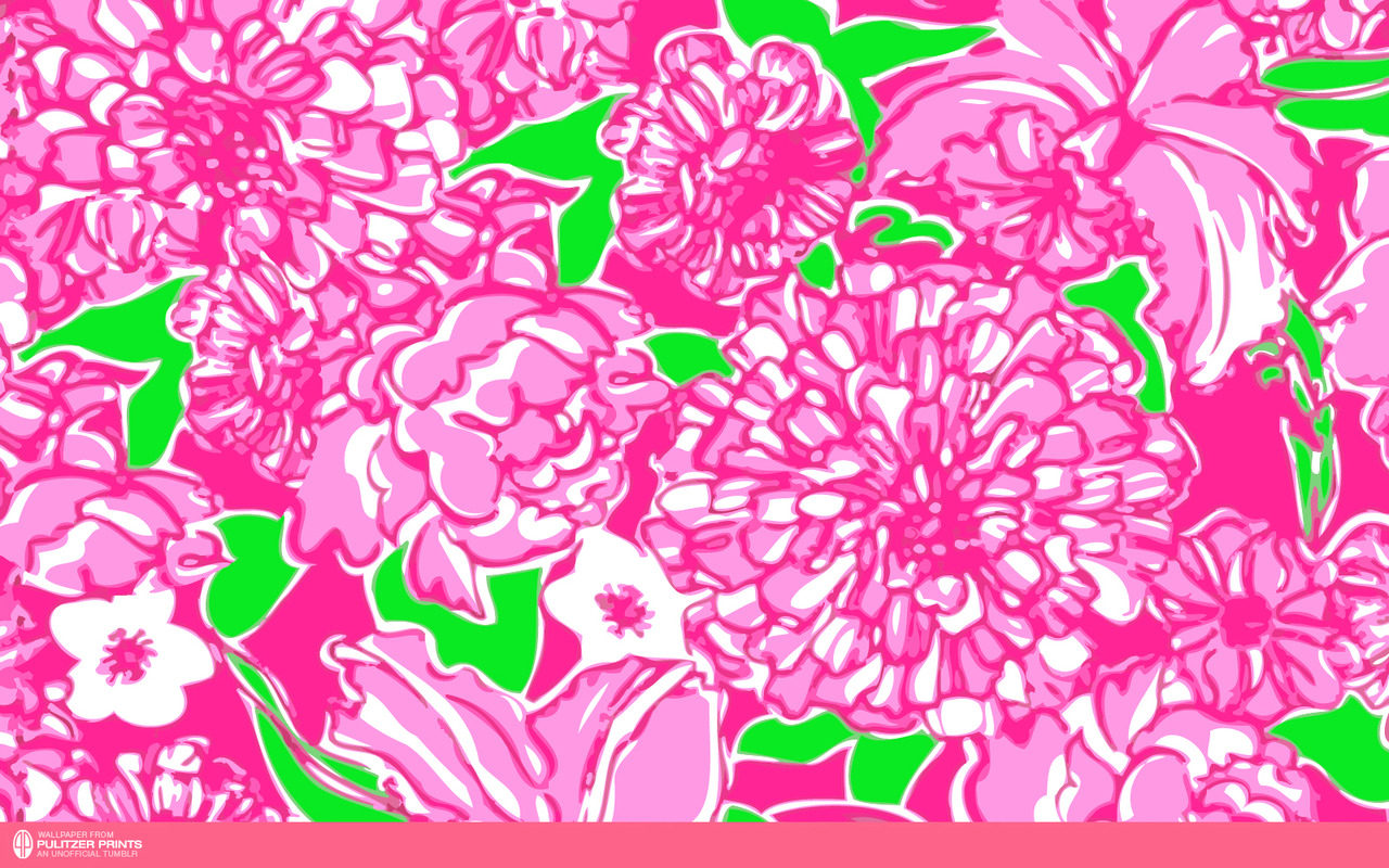 images of an unofficial collection of lilly pulitzer prints wallpaper 1280x800