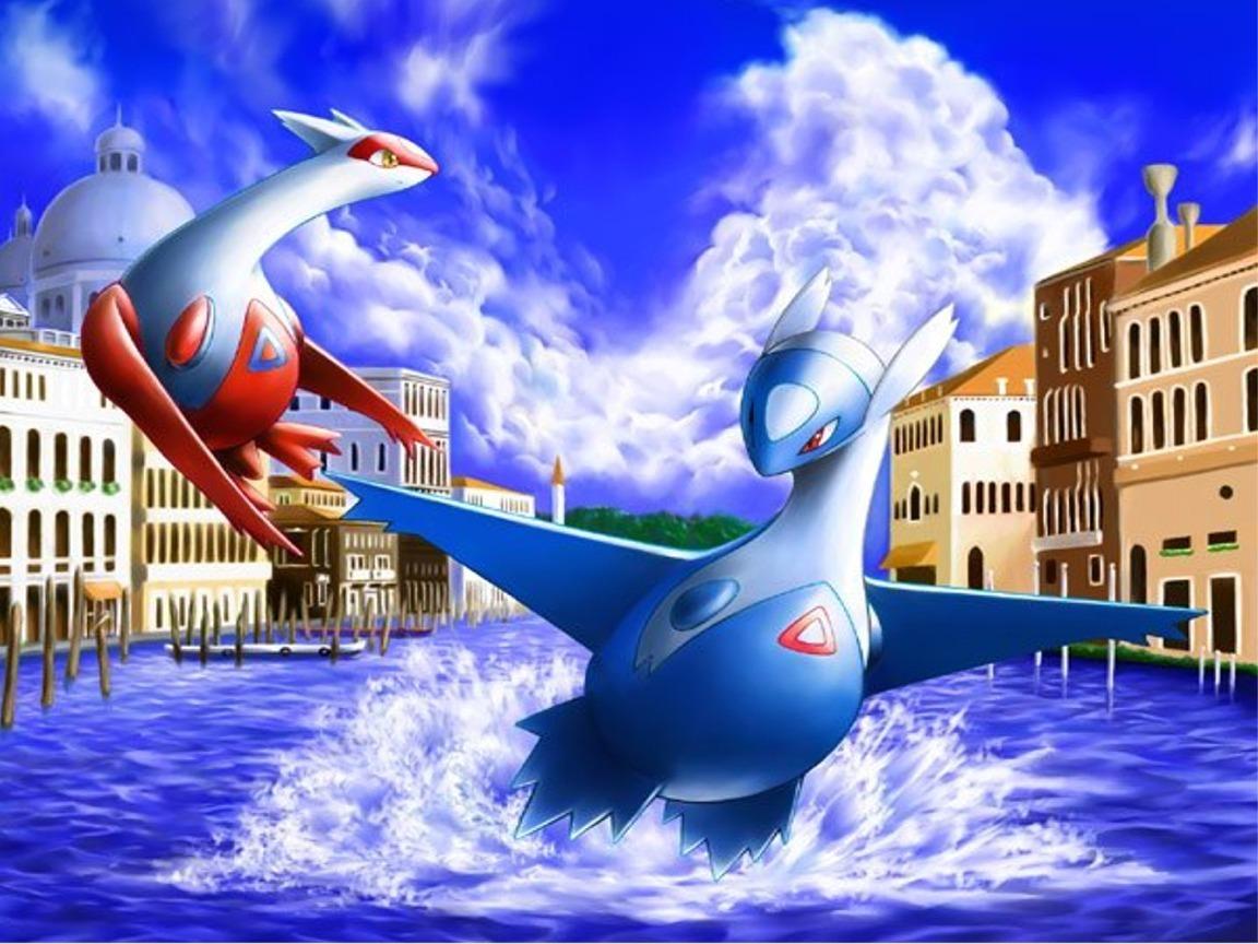 1152x864px Pokemon Latios and Latias Wallpaper 1152x864