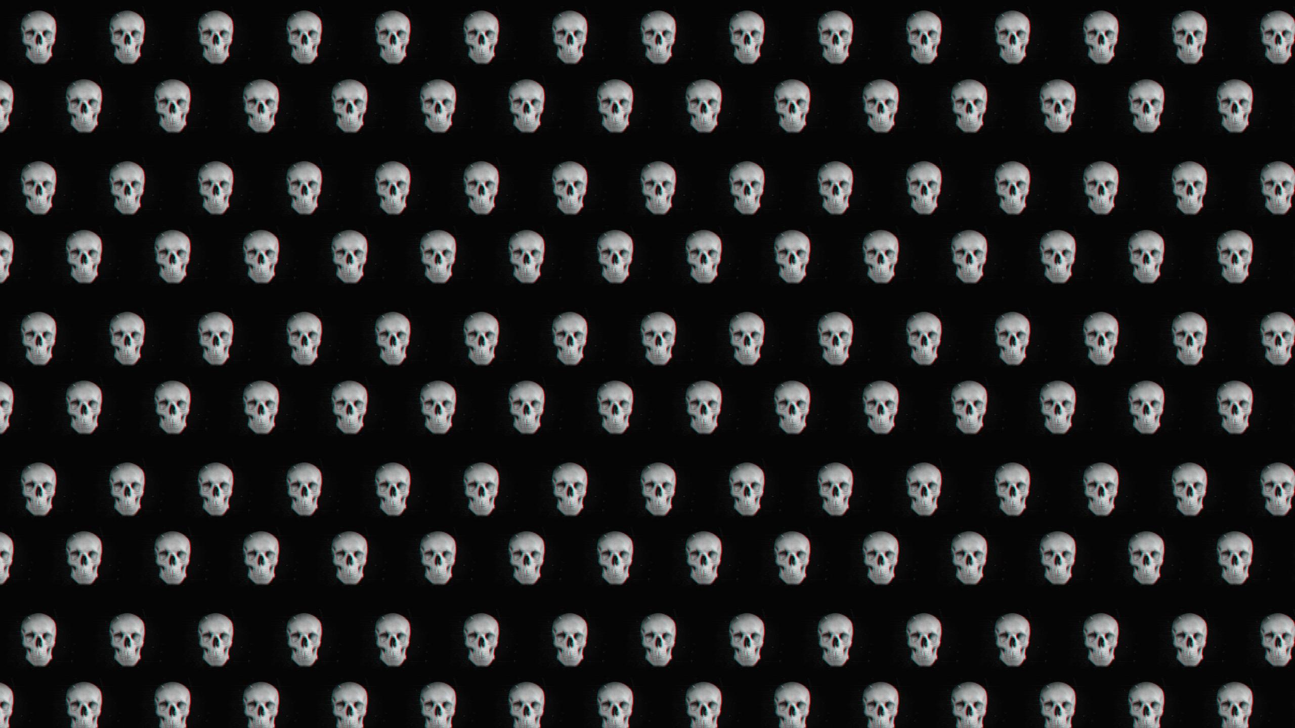 this 3d Skulls Desktop Wallpaper is easy Just save the wallpaper 2560x1440