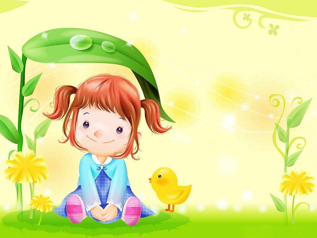 Cute Cartoon Wallpapers 1024x768