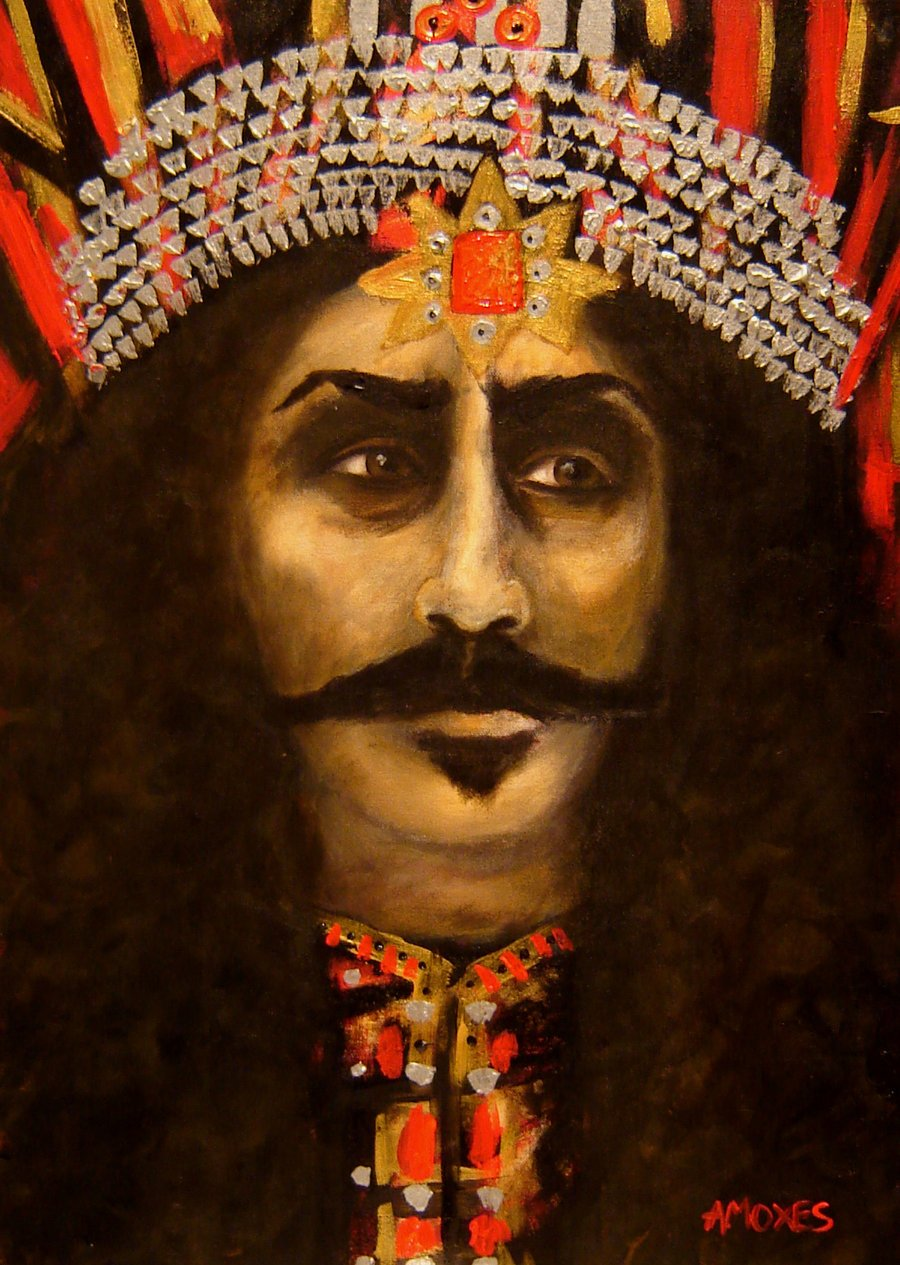 Vlad the Impaler by amoxes 900x1265