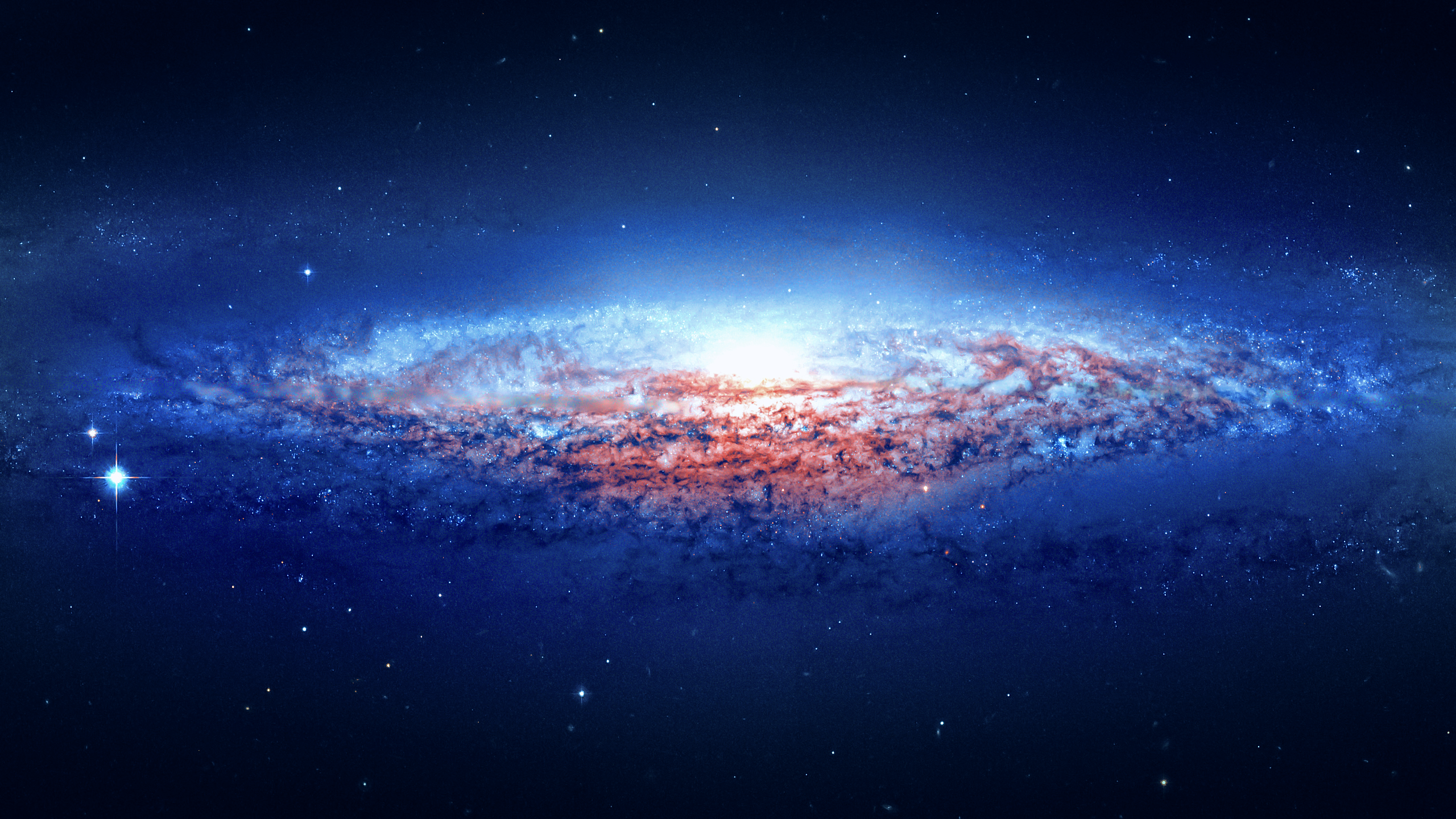Cool galaxy wallpaper wallpapersafari for Sfondi galassie hd