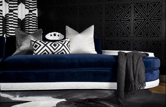 Design Trends of 2010 Black walls Luxury Interior Design Journal 700x454