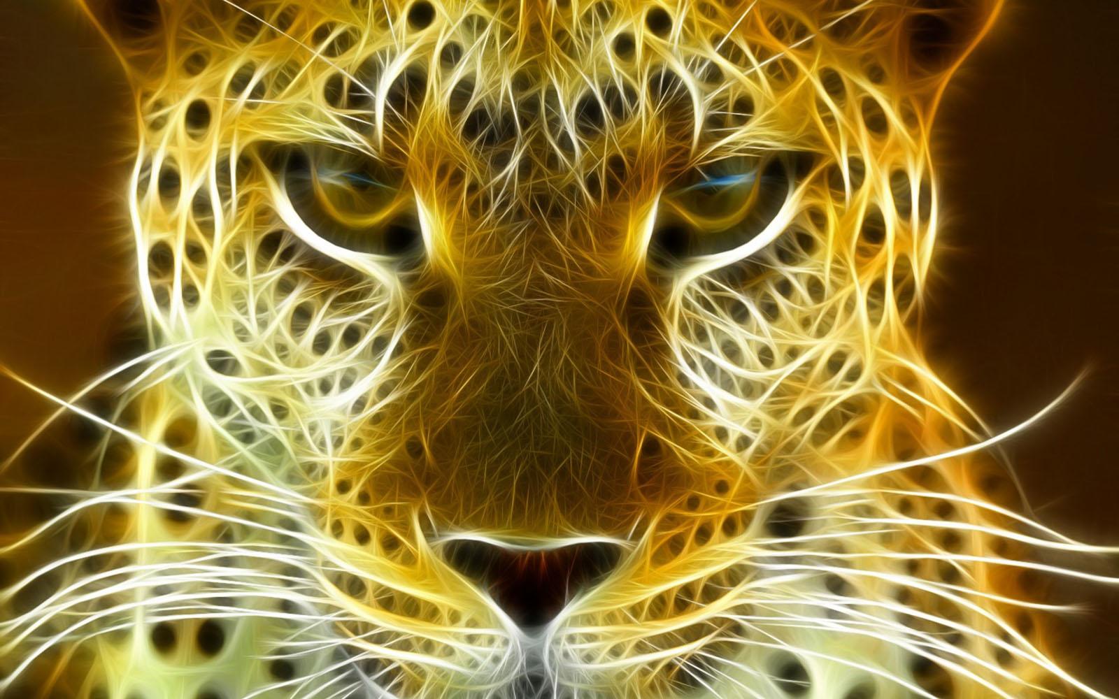 wallpapers Leopard 3D Wallpapers 1600x1000