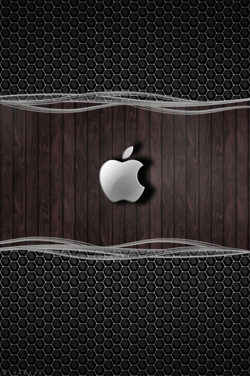 30 Apple Themed Wallpapers for your iPhone 4S   blueblotscom 500x750