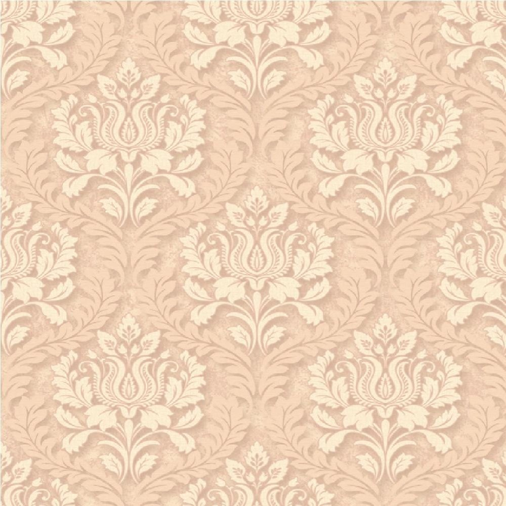 Free Download Small Damask Textured Embossed Blown Vinyl Wallpaper