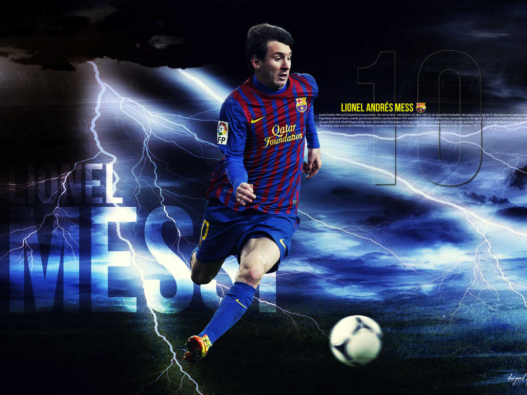 HDMOU TOP 11 LIONEL MESSI WALLPAPERS IN HD 1024x768