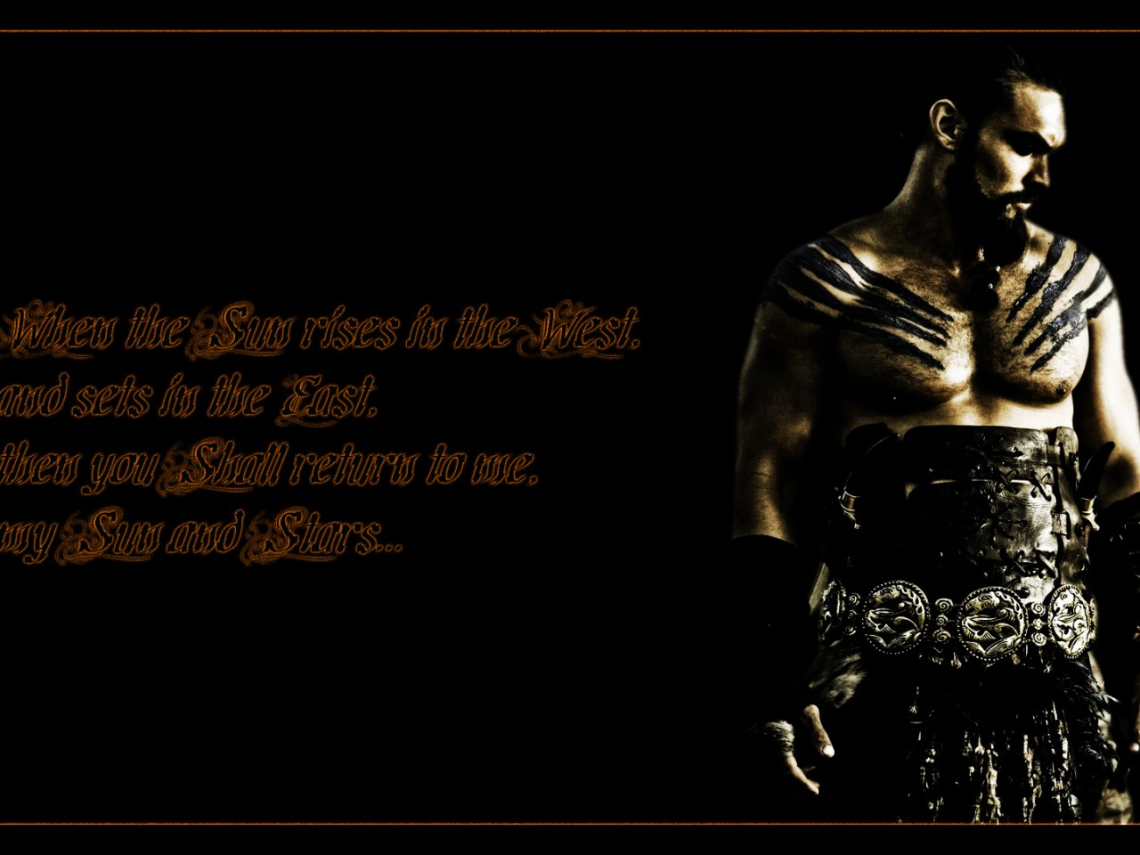 game of thrones drogo quote high resolution wallpaper HD wallpaper 1280x960