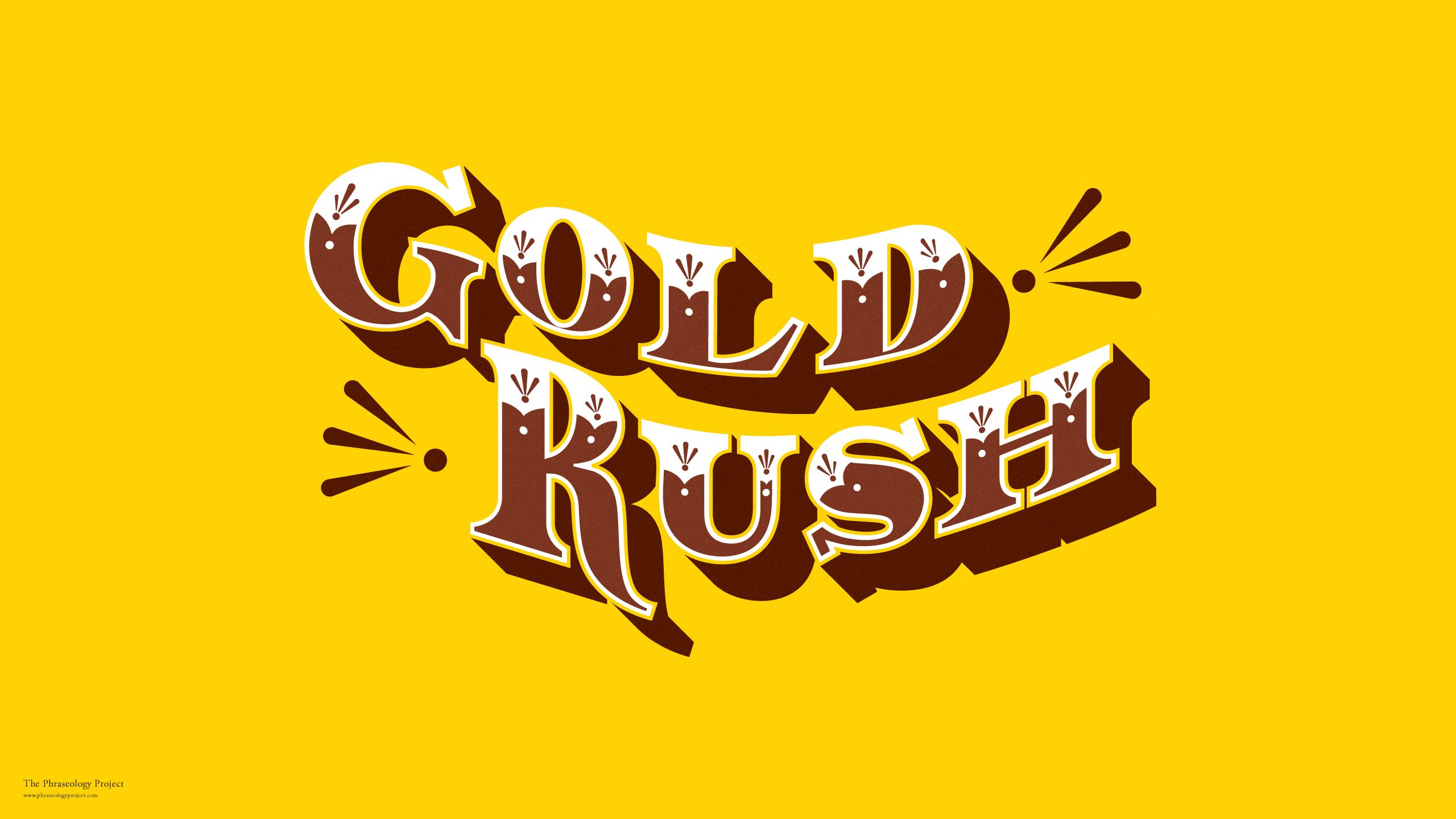 Download Gold Rush Wallpaper Gallery 2560x1440
