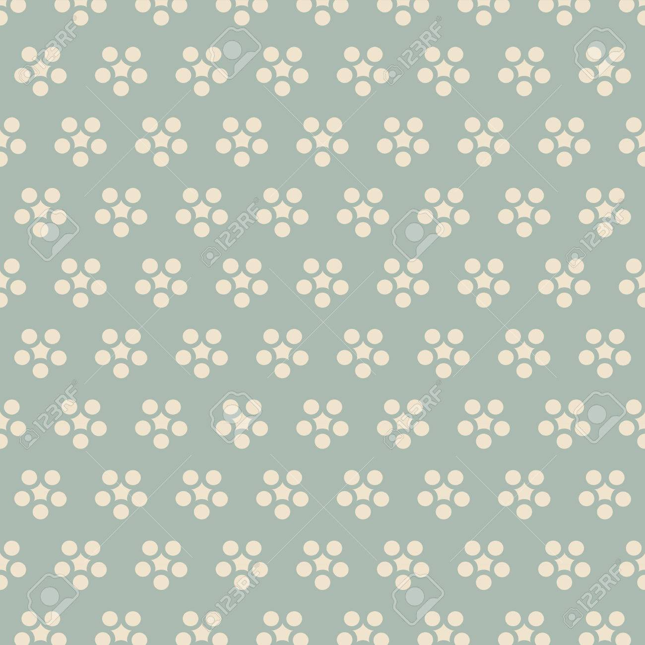 Antique Seamless Background Retro Japanese Round Flower Chintz 1300x1300