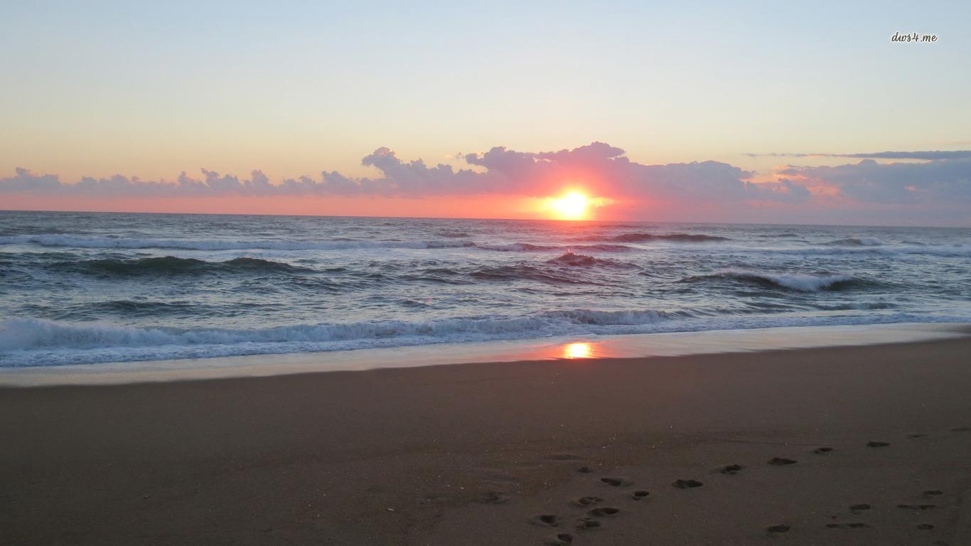 Beaches USA Outer Banks North Carolina 1366x768
