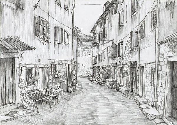 [45+] Pencil Sketch Wallpaper on WallpaperSafari