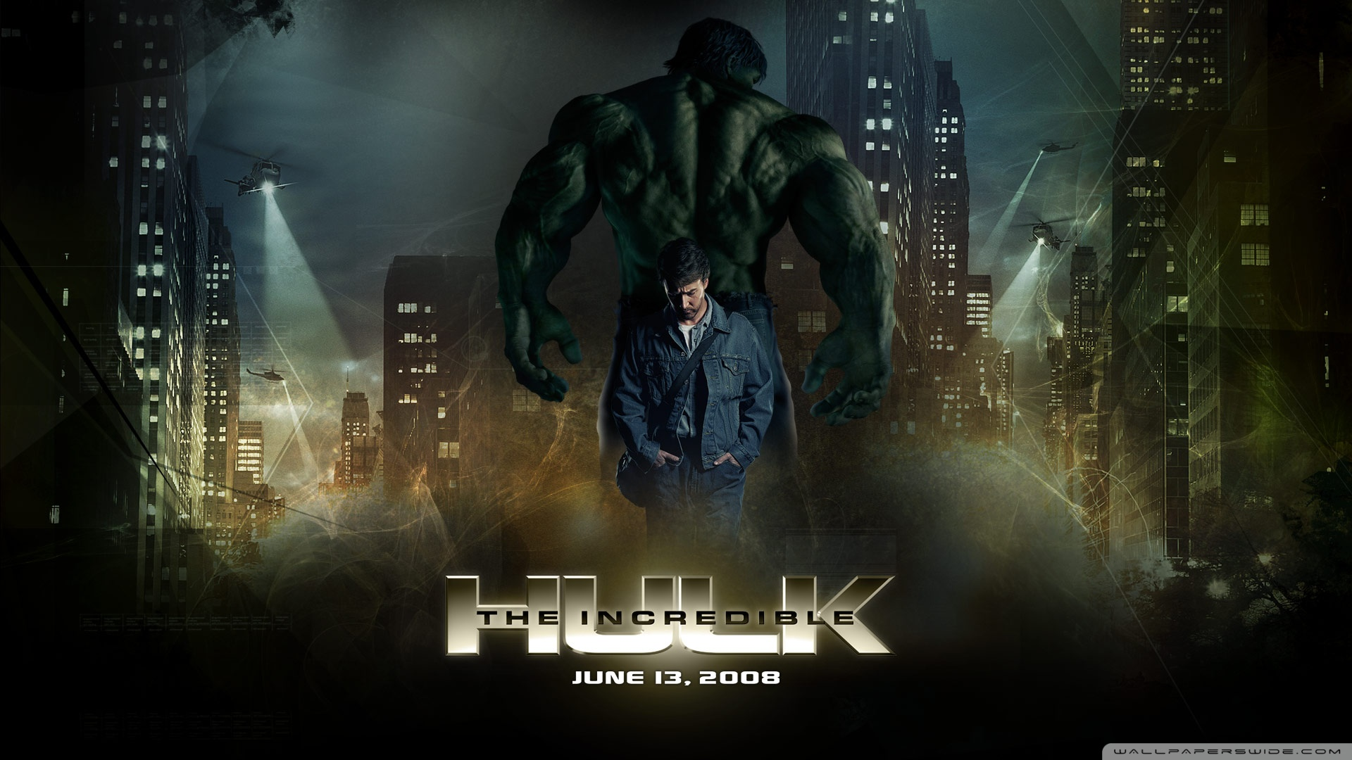 The Incredible Hulk 2 4K HD Desktop Wallpaper for 4K Ultra HD 1920x1080