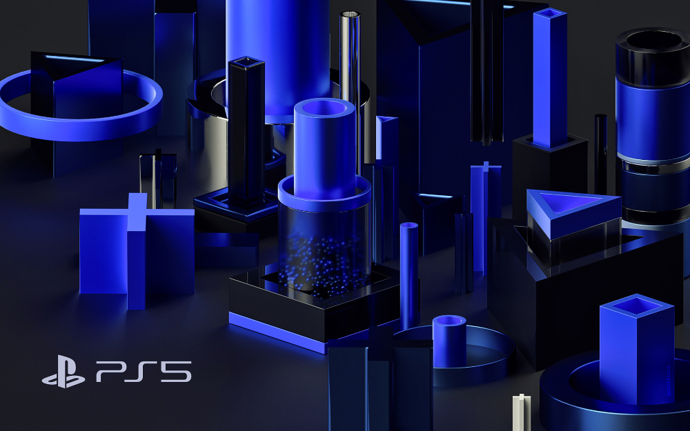 Playstation 5 Wallpapers on Behance 1000x625