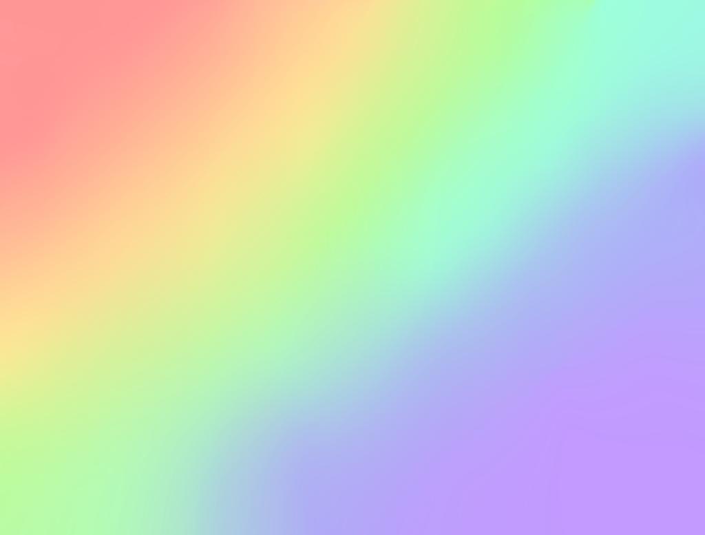 1024x777px Pastel Rainbow Wallpaper