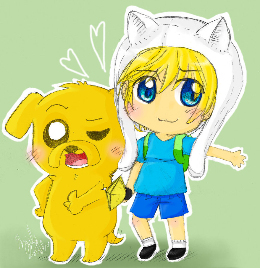 With Finn and Jake images Finn and Jake wallpaper photos 35458996 879x908