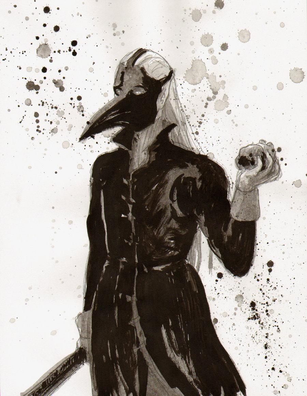 Plague Doctor by DamonVonBohn 900x1163