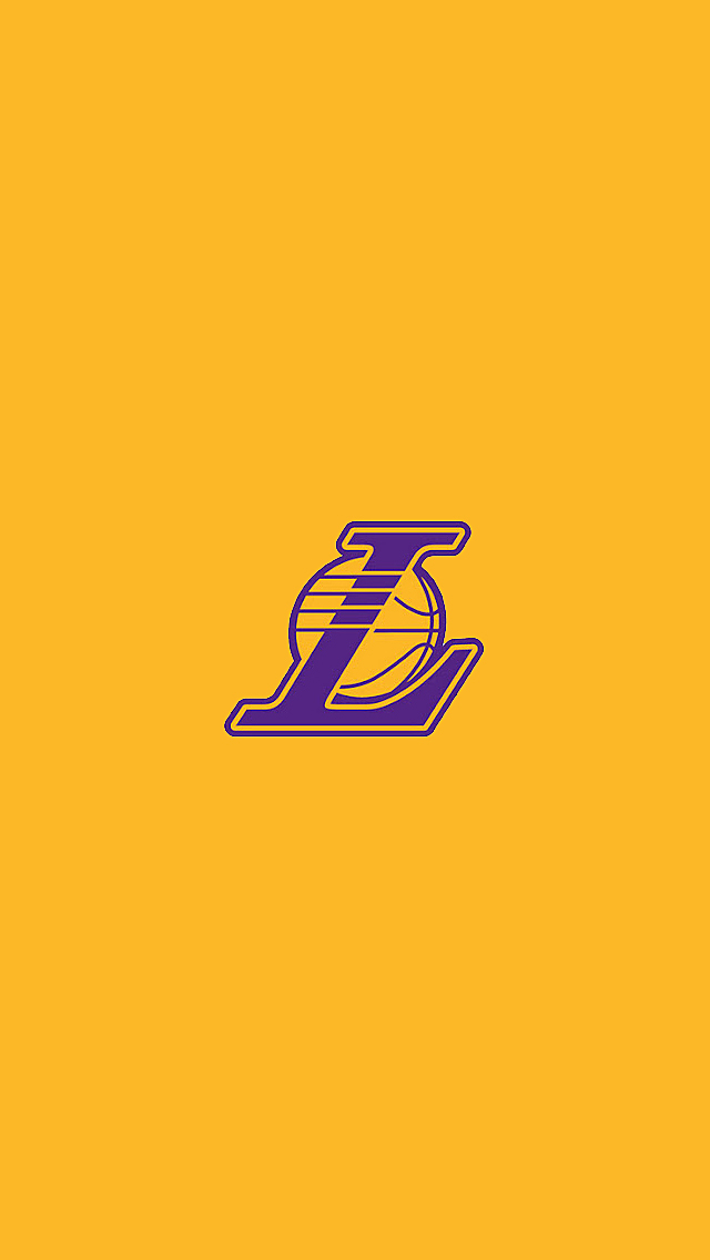 lakers iphone wallpaper lakers logo wallpaper wallpapersafari 12560