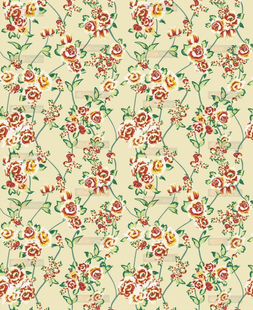 vintage floral pattern desktop wallpaper categories nature wallpapers 837x1024