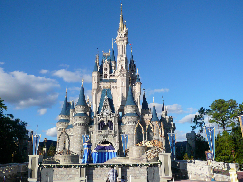 Disney World Magic Kingdom Castle Wallpaper Full HD Wallpapers 1024x768