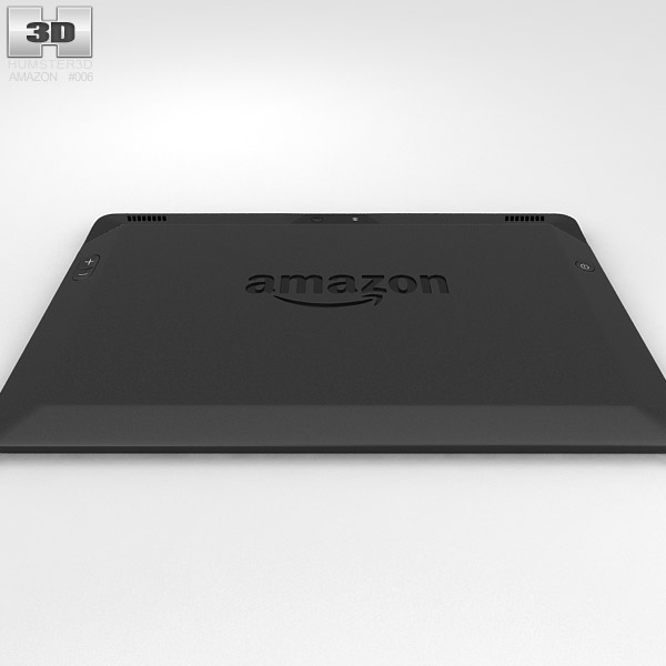 Amazon Kindle Fire HDX 89 Inches 3D Model Humster3D 600x600