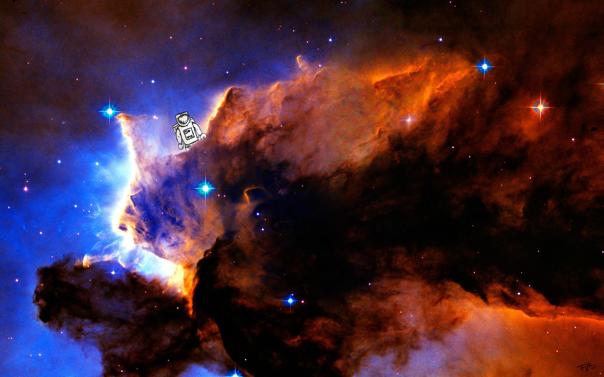 Hubble Telescope Francis Delapena 1920x1200