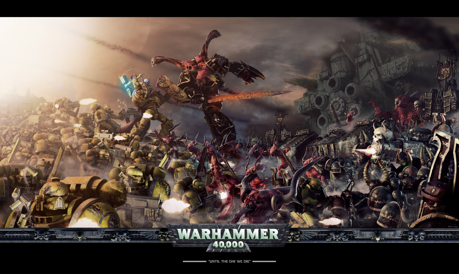 10 Great Warhammer 40k Dawn of War Wallpapers 1600x957