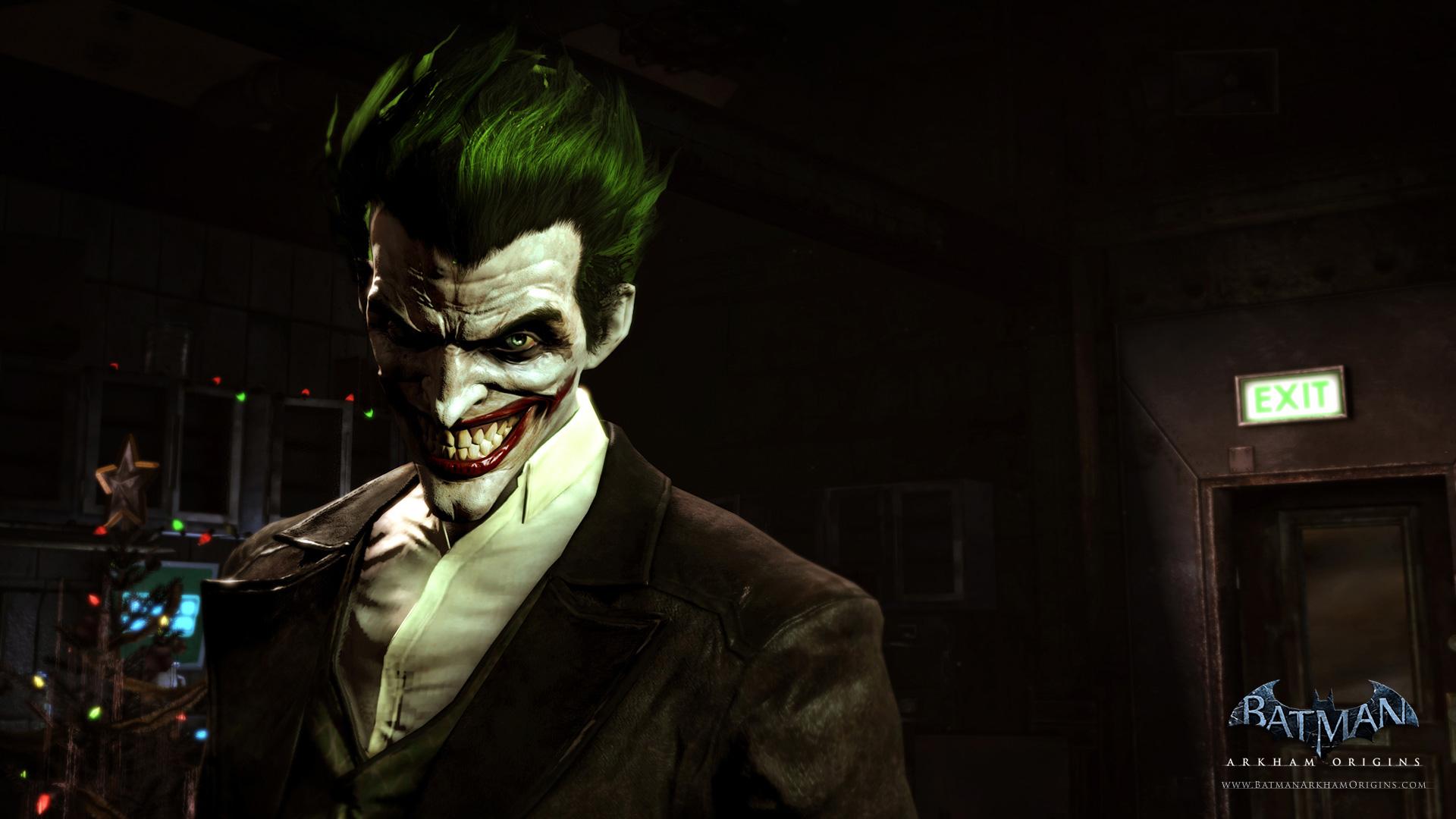 Photos joker batman arkham origins wallpaper 1920x1080