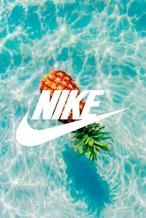 blue nike pinapple wallpaper water   image 3721964 by Bobbym on 476x711