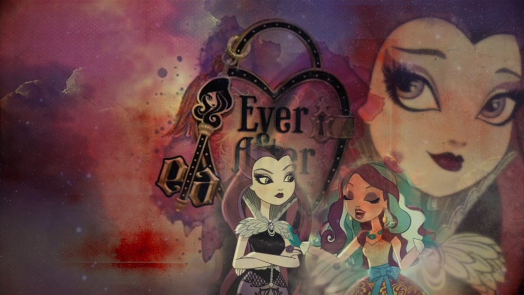 Wallpaper Ever After High   Raven Queen by MadBlackie 1024x576