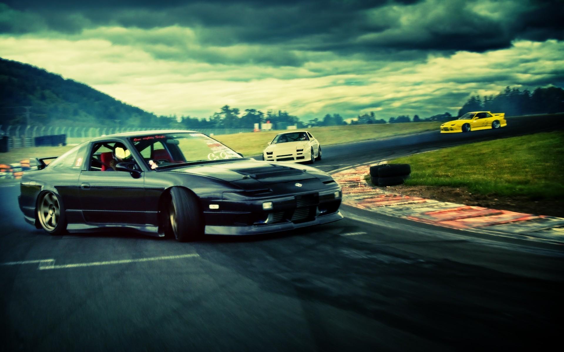 Drifting Nissan 180sx Nissan Silvia S13 Jdm Wide 39102 HD Wallpaper 1920x1200