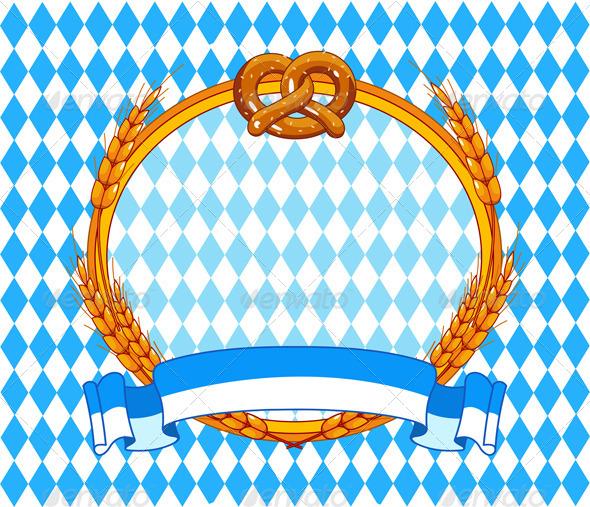 Oktoberfest background Oktoberfest party 590x507