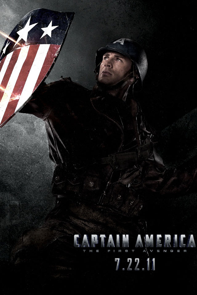 wallpaper for iphone 4 Captain America best iphone wallpapers iphone 640x960