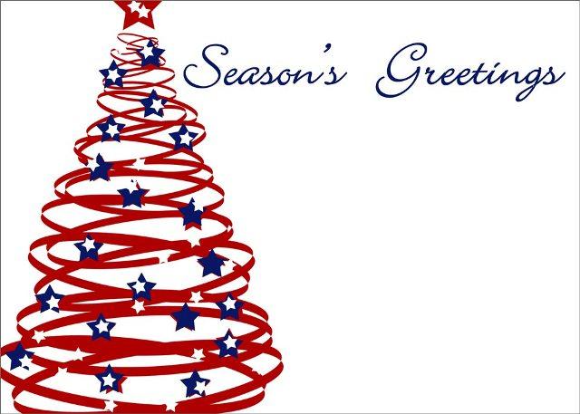 greeting christmas tree usa flag chistmas greeting patriotic christmas 640x457