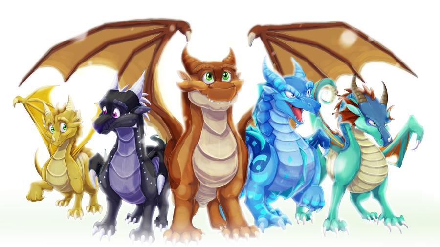 98 Dragonets Of Destiny Wallpapers On Wallpapersafari