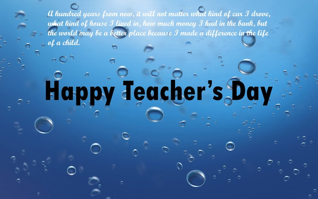 Happy World Teachers Day HD Wallpaper Images Pic Photos [ 1024x640