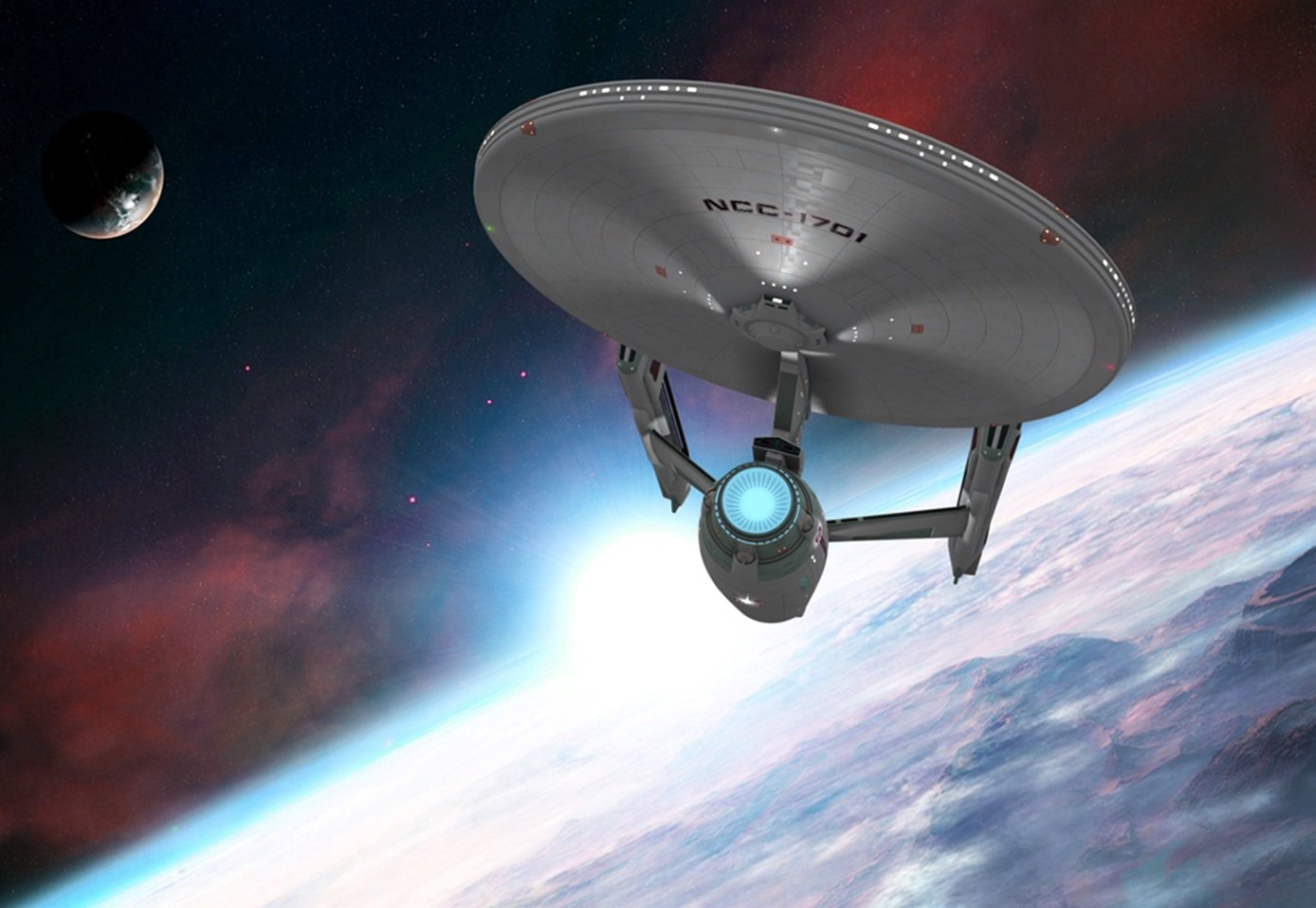 Star Trek Enterprise Refit PhotosHD WallpapersImagesPictures 1388x958