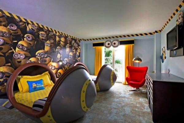 Kids Bedroom Ideas With Minion Theme Home Design And Interior 600x401