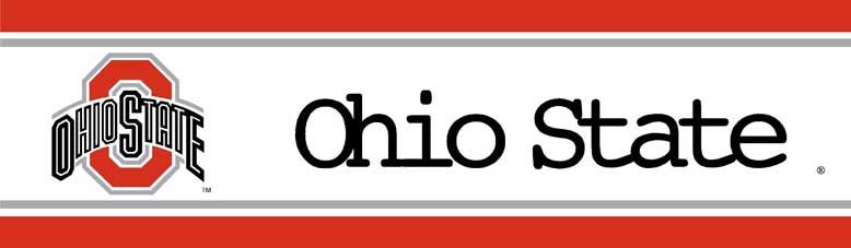 Ohio State Buckeyes Wallpaper Border On