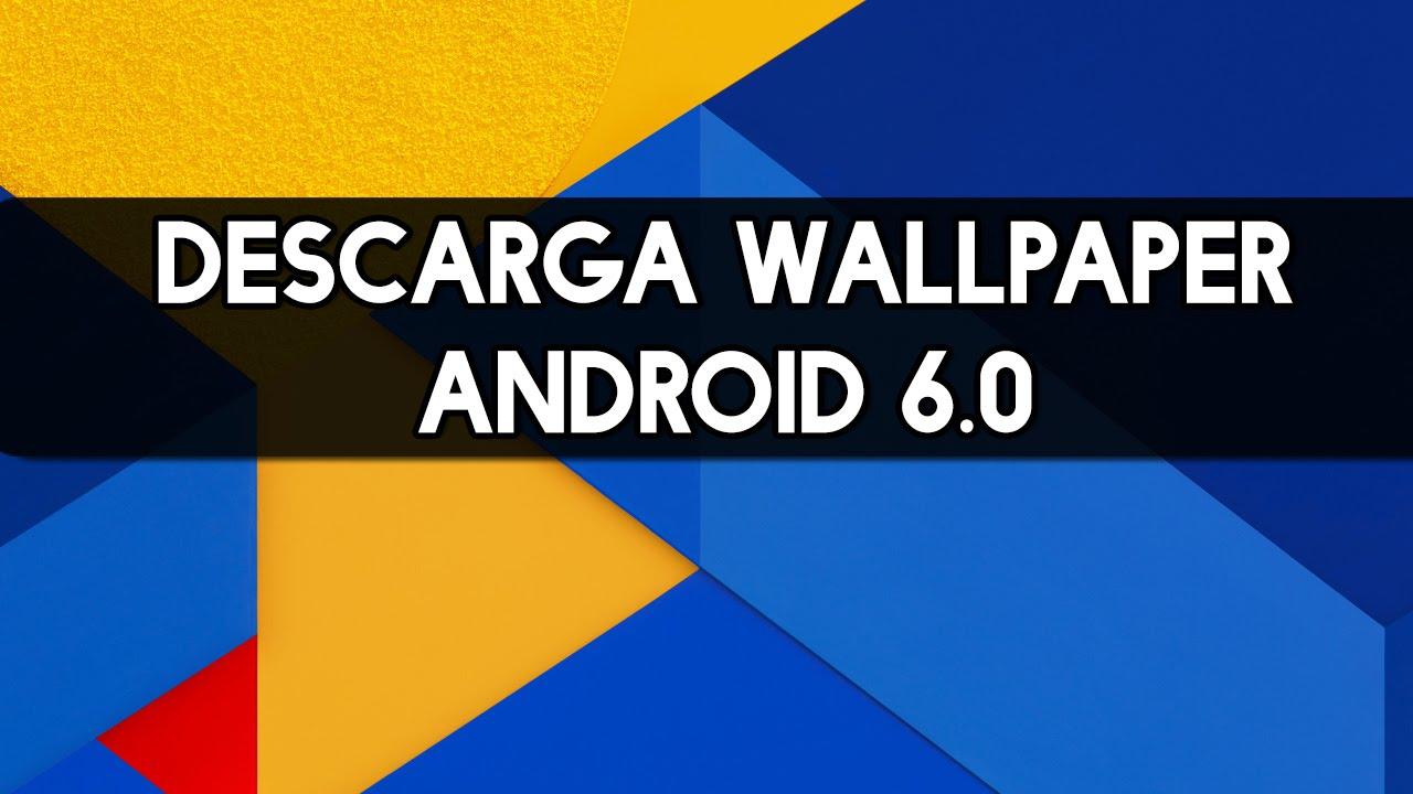 Nueva version de Android Marshmallow 60 descarga Wallpapers 1280x720